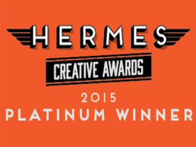 Platinum at 2015 Hermes Creative Awards