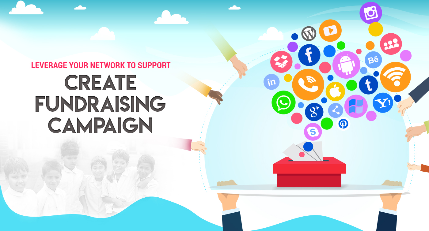 Raise funds with clicks! Launch a virtual fundraising campaign now..
