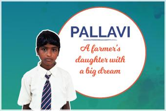 Pallavi: A farmer's daughter with a big dream