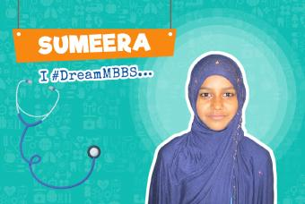 Sumeera Wants To Be The first Doctor In Her Family
