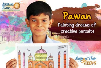 Pawan wants to paint his future as an artist