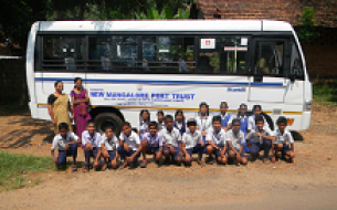 Educational Tour - Beneficiaries Visit Kitchen in Mangaluru