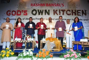 God's Own Kitchen – Book on Akshaya Patra's journey launched in Bengaluru