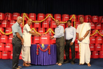 SBI Foundation donates towards hot insulated vessels