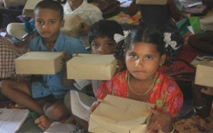 Cisco distributes breakfast boxes to 15 schools